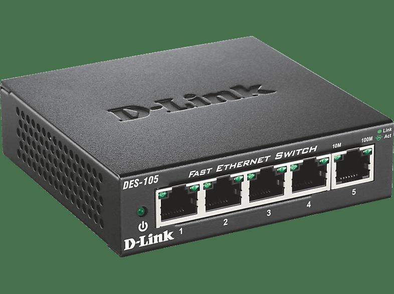 Desktop Switch D-LINK 5-Port Layer2 Fast Ethernet 5
