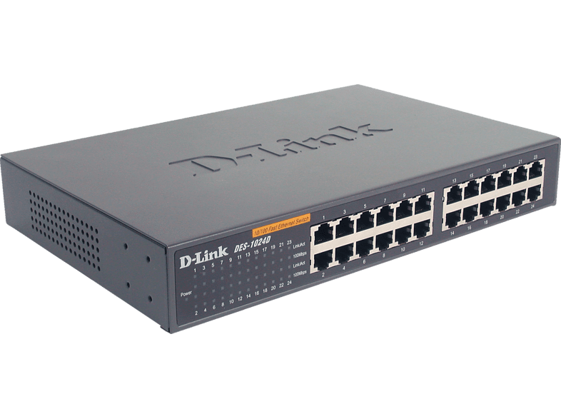 SMB Switch D-LINK 24-Port Layer2 Fast Ethernet 24