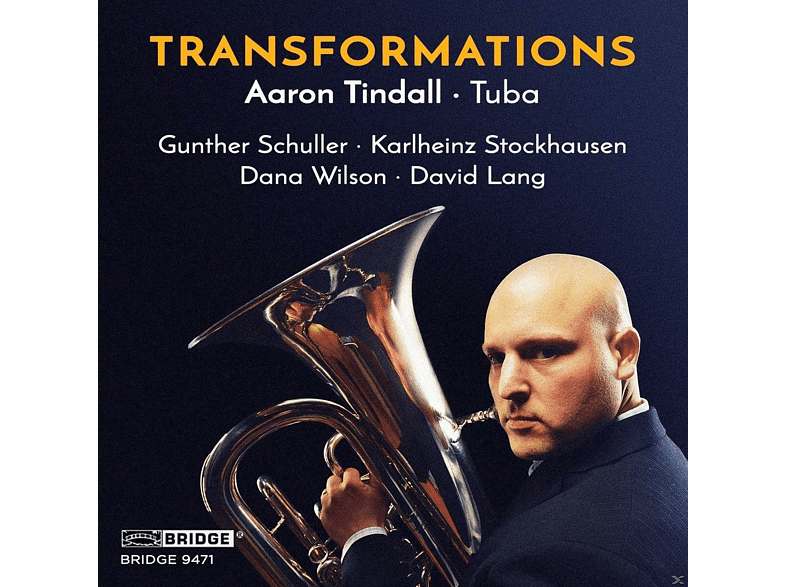 Aaron Tindall - TRANSFORMATIONS [CD]