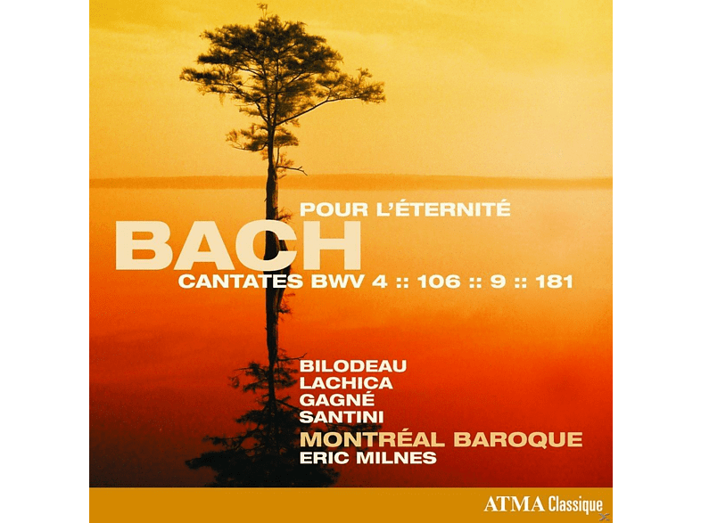Montreal Baroque - THE SACRED CANTATAS,BWV 4,106,9,181 [CD]