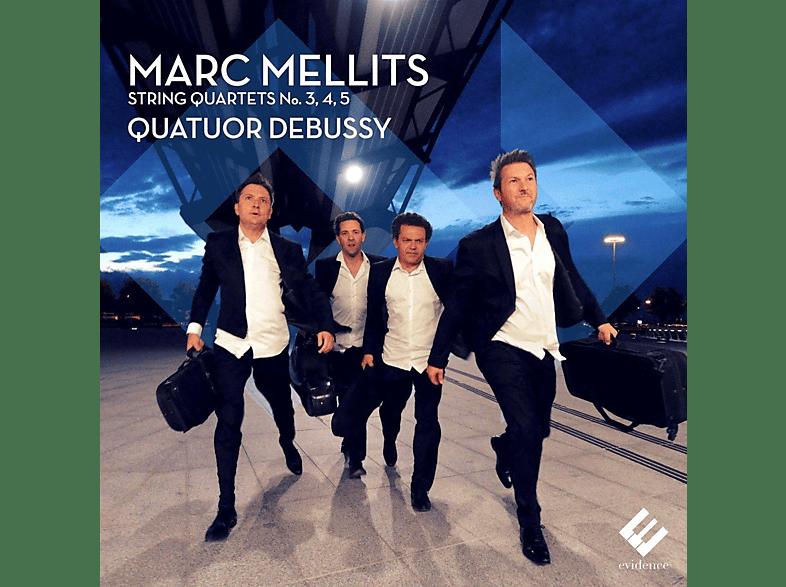 Quartuor Debussy - STREICHQUARTETTE 3-5 [CD]