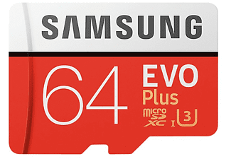 SAMSUNG Carte mémoire microSDXC EVO Plus 64 GB (MB-MC64GA/EU)