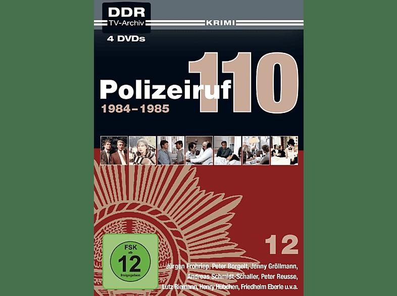 DDR TV-Archiv Polizeiruf 110-Box 12: 1984-1985 [DVD]