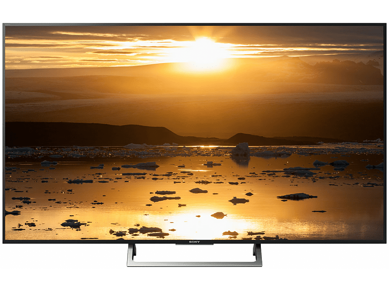 SONY KD-55XE7077 LED TV (Flat, 55 Zoll/139 cm, UHD 4K, SMART TV)
