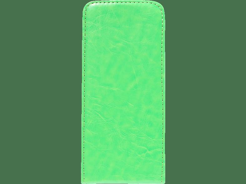 V-DESIGN DV 247 , Flip Cover, Samsung, Galaxy S8, Kunstleder, Grün