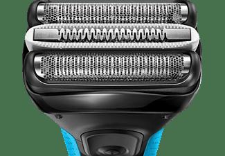 BRAUN Series 3 ProSkin - 3040s Rasierer Schwarz/Blau (MicroComb)