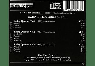The Tale Quartet - String Quartets Nos. 1-3 - Tale Quartet  - (CD)