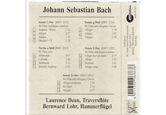 Bach: Sonaten Für Traverso