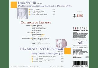 Camerata De Lausanne - Oktett Op.65/Oktett Op.20  - (CD)
