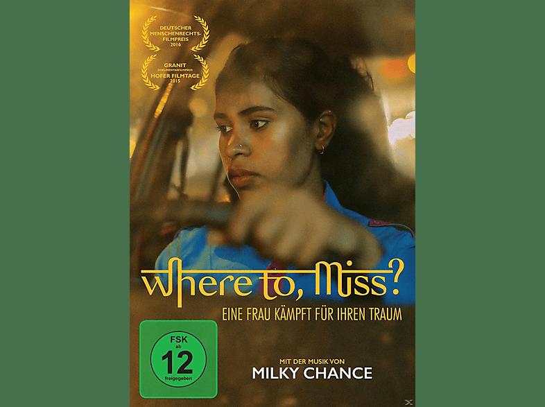Where to, Miss? - Eine Frau kämpft für ihren Traum [DVD]