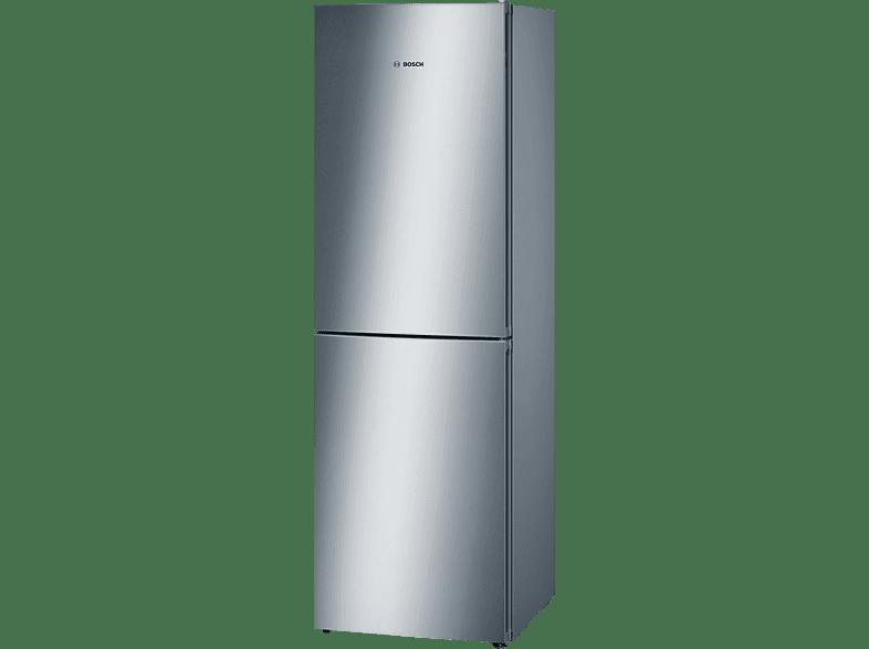 BOSCH KGN34VL35  Kühlgefrierkombination (A++, 267 kWh/Jahr, 1860 mm hoch, Edelstahl)