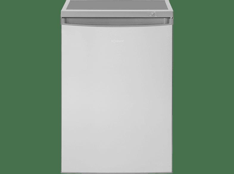 BOMANN KS 2184 Kühlschrank (141 kWh/Jahr, A++, 845 mm hoch, Edelstahl)
