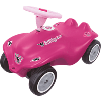 BIG Bobby-Car Rockstar-Girl Bobby Car, Pink