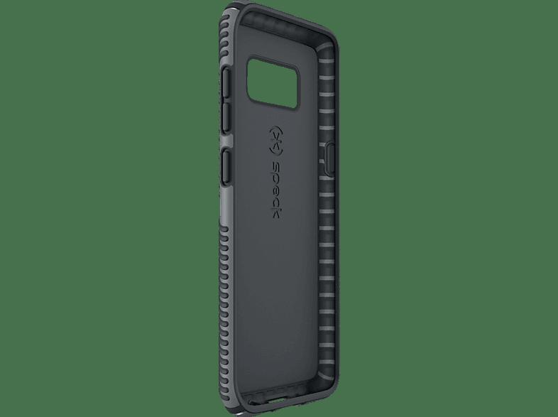 SPECK HardCase Presidio Grip , Backcover, Samsung, Galaxy S8+, Kunststoff, Grau