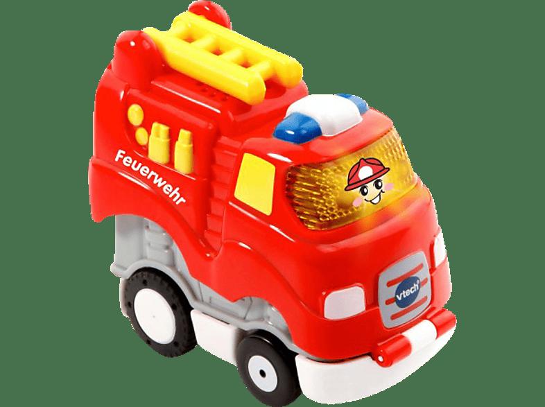 VTECH Tut Tut Baby Flitzer - Press & Go Feuerwehr Kleinkindspielzeug, Rot