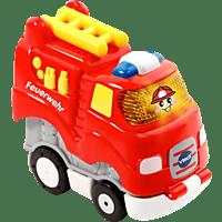 VTECH Tut Tut Baby Flitzer - Press & Go Feuerwehr Spielzeugauto, Rot