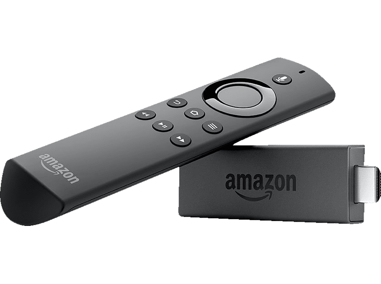 AMAZON Fire TV Stick mit Alexa-Sprachfernbedienung  Streaming Stick, Schwarz