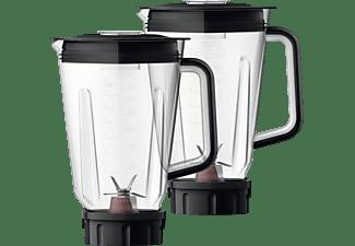 PHILIPS HR 3657/90 Standmixer Schwarz (1400 Watt, 2 Liter)