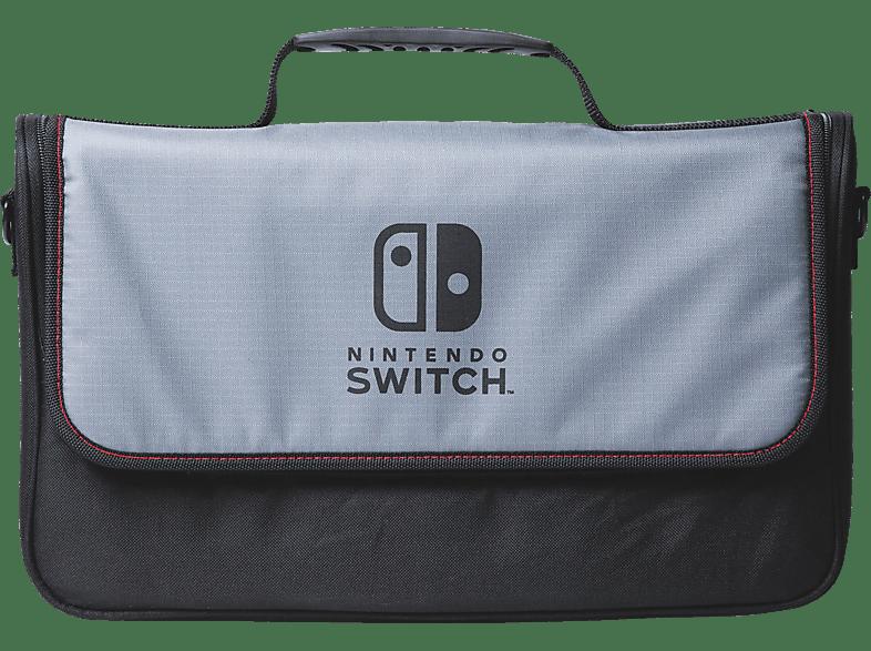 POWER A Everywhere Messenger Bag - Nintendo Switch Nintendo Switch Tasche, Schwarz/Grau