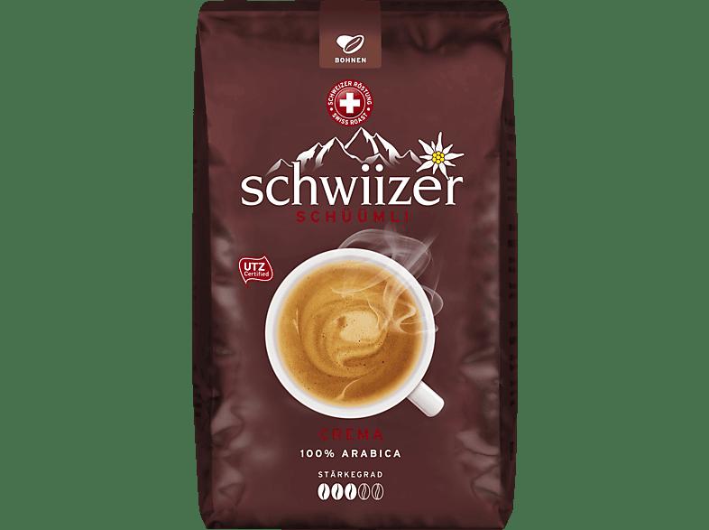 SCHWIIZER Crema Kaffeebohnen