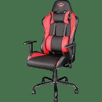 TRUST GXT 707R  Gaming Stuhl, Schwarz/Rot