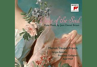 Marion Treupel-Franck, Azzolini Sergio - Voice of the Soul-Flute Music by Jean Daniel Braun  - (CD)