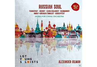 Lgt Young Soloists - Russian Soul-Works for String Orchestra  - (CD)