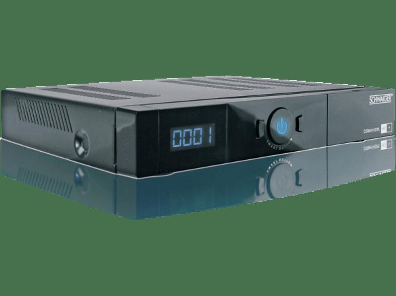 SCHWAIGER DSR 691 HDPL HD Sat-Receiver (HD+ Karte inklusive, DVB-S2, Schwarz)