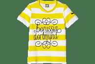 PUMA BVB 09 Dortmund T-Shirt, Gelb-Weiß