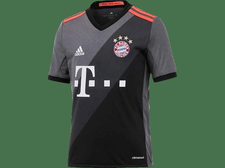 ADIDAS FC Bayern München Trikot Away, Grau-Schwarz