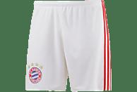 ADIDAS FC Bayern München Short Home, Weiß-Rot