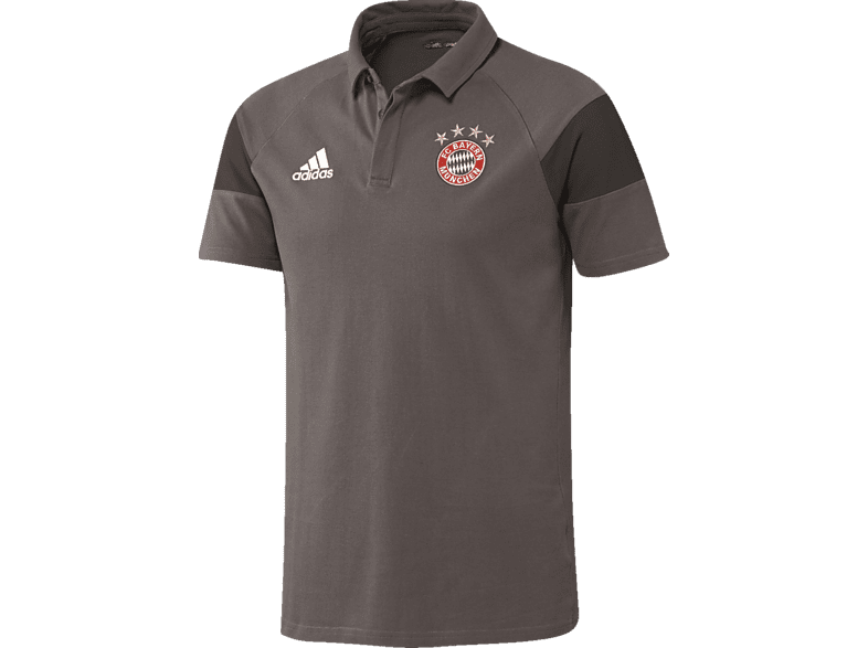 ADIDAS FC Bayern München Polo, Grau