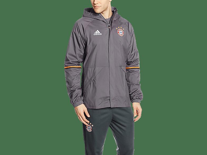 ADIDAS FC Bayern München Allwetterjacke, Grau