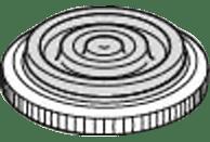 SILIT 21.5016.6177 Sicomatic®-E Deckelstielgriff (Kunststoff)