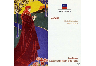 Iona Brown, Academy of St. Martin in the Fields, VARIOUS - Violinkonzerte 1,3,5  - (CD)