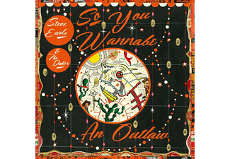 Steve Earle, The Dukes - So You Wannabe an Outlaw - (CD)