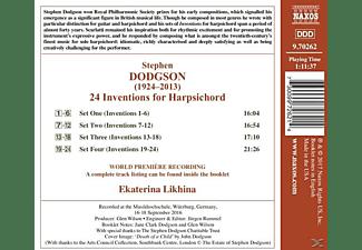 Likhina Ektarina - 24 Inventions for Harpischord  - (CD)
