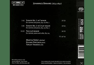Pöntinen - Kammermusik Mit Klarinette  - (SACD Hybrid)