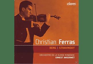 Christian Ferras - Violinkonzert/+Strawinksy: Violinkonzert  - (CD)