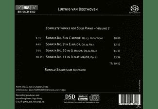 Ronald Brautigam - Sämtliche Klavierwerke Vol.1  - (SACD Hybrid)