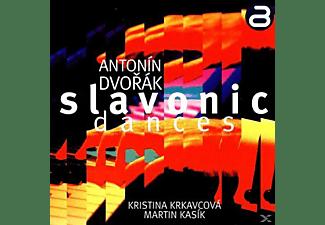 Kristina  Krkavcova - Slawische Tänze Für zwei Klaviere  - (CD)
