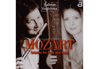 Robert Stallman, Katerina Englichova - Sonaten Für Flöte und Harfe  - (CD)
