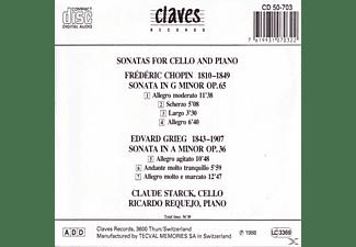 Starck Claude - Cellosonaten  - (CD)