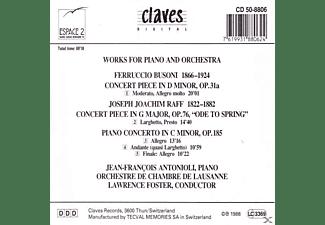 Antonioli Jean-francois - Klavierkonzerte  - (CD)