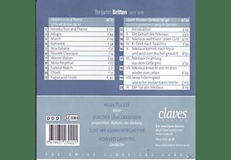 Tenor Zuercher Saengerknaben M Tucker - Saint Nicolas-Cantata op.42/Variat.on a themeop.10  - (CD)