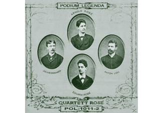 Arnold Rose - Arnold Rose & Rose-Quartett  - (CD)