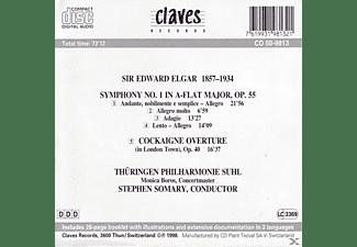 Thueringen Philharmonie/somar Suhl - Sinfonie 1,op.55/+Cockaigne Overture,op.40  - (CD)