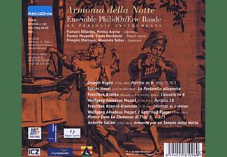 Eric Baude Ensemble Philidor - Armonia Della Notte  - (CD)