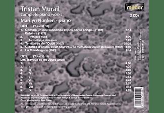 Marilyn Nonken - Murail-Complete Piano Music  - (CD)