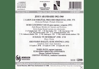 Euskadiko/bayo Orkestra Sinfonikoa - OrchesterLieder/Sinfonische Werke  - (CD)